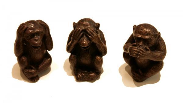Affen Nichts Sagen Nicht Sehen Nichts Hören